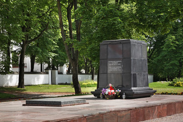 Monument to Soviet soldiers in Siauliai. Lithuania