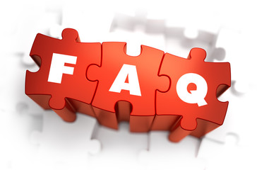 FAQ - Text on Red Puzzles.
