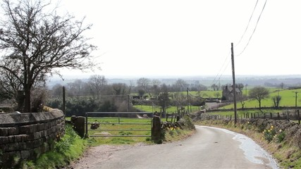 Countryside Lane - Roving Hills & Road