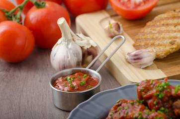 Tomato hot salsa