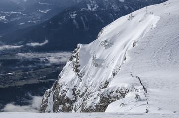 Dobratsch Südwand