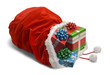 Spilled Santa Bag - 81524618