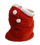 Open Santa Bag