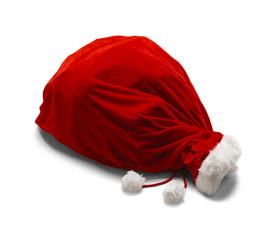 Tied Santa Bag
