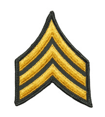 Army Sergeant Patch