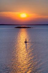 Sailboat on Green Bay