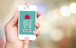 Buy now on smart phone screen