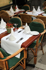 terasse de restaurant