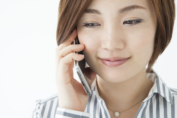 Women over the phone
