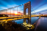 George Washington Bridge at sunrise - 81526293
