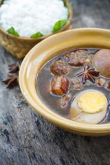 Kai pa-loh ou Porc aux cinq épices, plat Thaïlandais