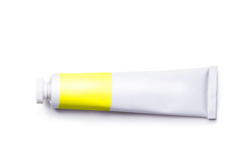 tube with a paint