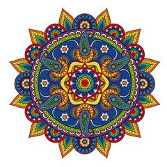 Round Paisley Pattern