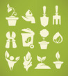 all for your gardening, icon and emblem set - 81532469
