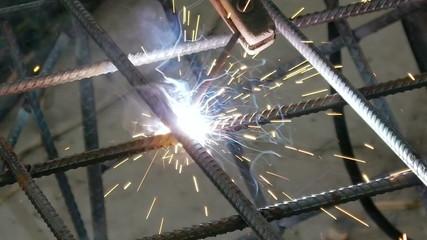 Soldering Steel Rods Armature