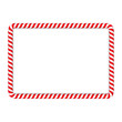 Candy Cane Frame - 81532829