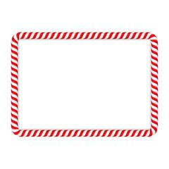 Candy Cane Frame