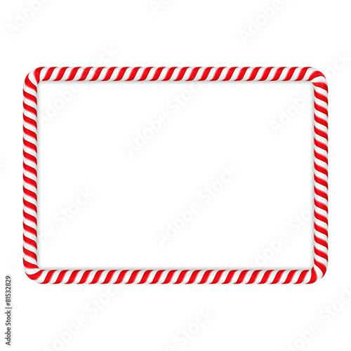 Candy Cane Frame - 81532829