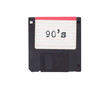 canvas print picture - Floppy disk, data storage support