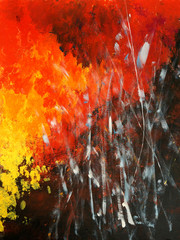Modern painting. Abstract Art