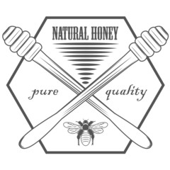 pure honey logos and pictures