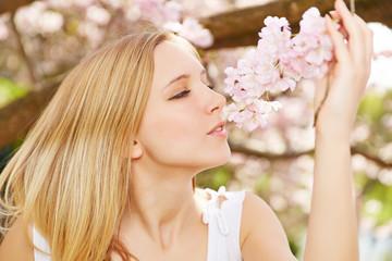 Entspannung und Wellness im Frühling