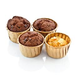 Chocolate Cupcake wth fork