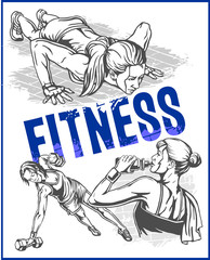 Fitness gym - women and girls