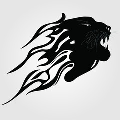 Tiger Tribal Silhouette