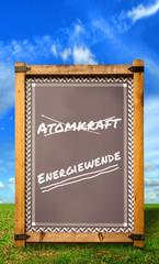 Strassenschild 34 - Energiewende