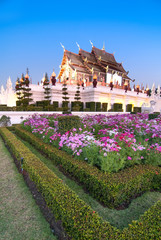 Beautiful Royal pavillion ,Chiangmai ,Thailand