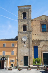 Church of St. Giuliano. Macerata. Marche. Italy.