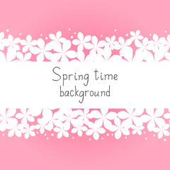 Spring floral background for Your design