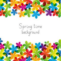 Spring floral background for Your design