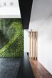 modern architecture minimal style interior with vertical garden