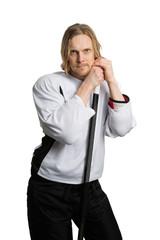 Hockey player