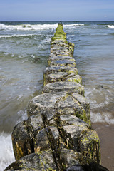 Breakwater Baltic Sea
