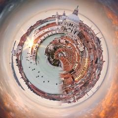 Abstraction de Venise, Italie