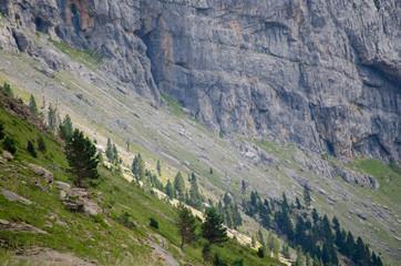 Valley near Ordesa y Monte Perdido National Park, Spain