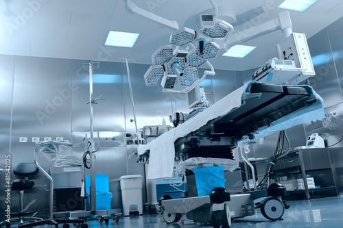 Fotobehang Industrial geb. Surgical operating room