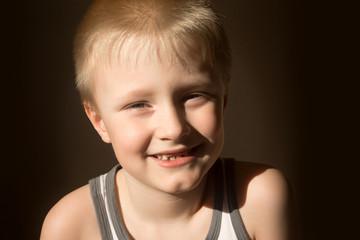 Smiling child (boy)