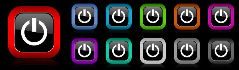 power vector icon set