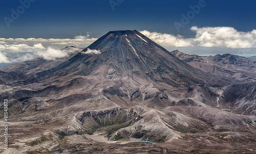 Leinwanddruck Bild Mt. Ngauruhoe at Tongariro National Park (New Zealand)