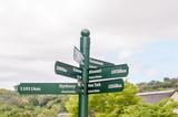Sign post at Kirstenbosch poster
