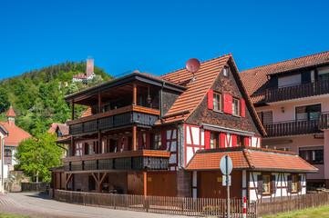 Fachwerkensemble mit Burg Liebenzell, Bad Liebenzell