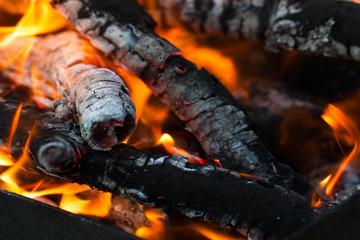 burning coals of fire