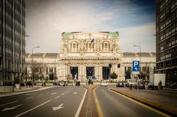 Milano, Stazione Centrale, Italia