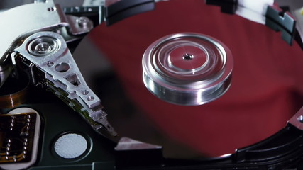 Hard Disk Drive Open