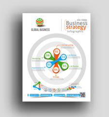 Infographic Flyer & Poster Design Element.
