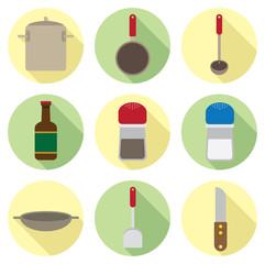 kitchen ware flat icon